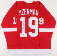 Steve Yzerman Signed Jersey (Beckett COA & Yzerman Hologram) at PristineAuction.com