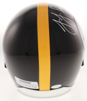 JuJu Smith-Schuster Signed Pittsburgh Steelers Full-Size Helmet (TSE COA) at PristineAuction.com