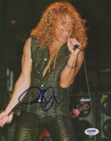 Robert Plant Signed 8x10 Photo (PSA COA)