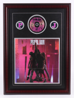 "Pearl Jam Band-Signed ""Ten"" 21x28 Custom Framed CD Display with Poster (PSA LOA) at PristineAuction.com"