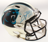 Gerald McCoy Signed Carolina Panthers Chrome Speed Full Size Helmet (Beckett COA & JSA Hologram)