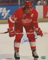 Bob Probert Signed Detroit Red Wings 8x10 Photo (PSA Hologram)