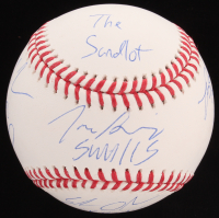 """""""The Sandlot"""" OML Baseball Cast-Signed By (6) With Tom Guiry, Chauncey Leopardi, Shane Obedzinski, Marty York with Multiple Inscriptions (MAB Hologram)"""
