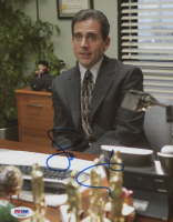 """Steve Carell Signed """"The Office"""" 8x10 Photo (PSA COA) at PristineAuction.com"""