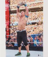 John Cena Signed WWE 10x12 Photo (Beckett COA)