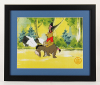 "Walt Disney's ""Winnie-the-Pooh"" 16x19 Custom Framed Hand-Painted Animation Serigraph Display at PristineAuction.com"