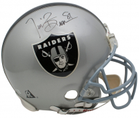 Tim Brown Signed Oakland Raiders Full Size Authentic On-Field Helmet (Beckett COA) at PristineAuction.com