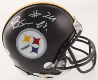 Benny Snell Jr. Signed Steelers Mini Helmet (JSA COA) at PristineAuction.com