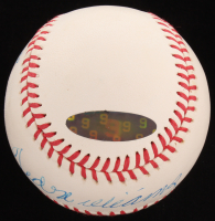 Ted Williams Signed OAL Baseball with Display Case (PSA LOA & Williams Hologram) at PristineAuction.com