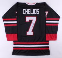 Chris Chelios Signed Jersey (JSA COA)