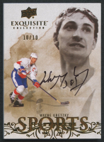 2012-13 Exquisite Collection Sports Autographs #WG Wayne Gretzky #10/10 at PristineAuction.com