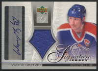 2003-04 Upper Deck Jersey Autographs #SJWG Wayne Gretzky at PristineAuction.com