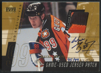 2000-01 Upper Deck Game Jersey Patch Autographs Exclusives #PSWG Wayne Gretzky All-Star #95/99 at PristineAuction.com
