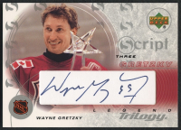 2003-04 Upper Deck Trilogy Scripts #S3G1 Wayne Gretzky All-Star at PristineAuction.com