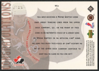 1999-00 Upper Deck Game Jerseys #WG3 Wayne Gretzky at PristineAuction.com