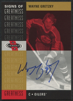 2000-01 Upper Deck Heroes Signs of Greatness #WG Wayne Gretzky SP at PristineAuction.com