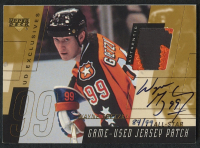 2000-01 Upper Deck Game Jersey Patch Autographs Exclusives #PSWG Wayne Gretzky All-Star #84/99 at PristineAuction.com