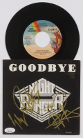 "Jack Blades, Brad Gillis, & Kelly Keagy Signed ""Goodbye"" 7"" Vinyl Record Single (JSA COA) at PristineAuction.com"