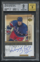 2001-02 UD Premier Collection Signatures #GR Wayne Gretzky G (BGS 9) at PristineAuction.com