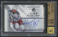 2006-07 SP Authentic Sign of the Times #STWG Wayne Gretzky Autograph (BGS 9.5) at PristineAuction.com
