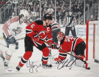 Andy Greene & Cory Schneider Signed New Jersey Devils 11x14 Photo (PSA COA)