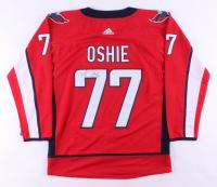T. J. Oshie Signed Washington Capitals Jersey (JSA COA)