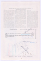 """Vintage 1957 """"The New York, Chicago and St. Louis Railroad Company"""" (25) Shares Stock Certificate at PristineAuction.com"""