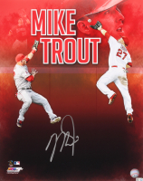Mike Trout Signed Los Angeles Angels 16x20 Photo (MLB Hologram)