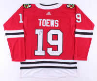 Jonathan Toews Signed Chicago Blackhawks Captain Jersey (JSA COA)