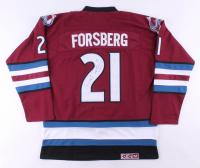 Peter Forsberg Signed Colorado Avalanche Jersey (JSA COA)