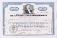 "Vintage 1940 ""The Pennsylvania Railroad Company"" (100) Shares Stock Certificate at PristineAuction.com"