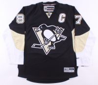 Sidney Crosby Signed Pittsburgh Penguins Captain Jersey (JSA LOA) at PristineAuction.com