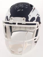 "Champ Bailey Signed Denver Broncos Full-Size AMP Alternate Speed Helmet Inscribed ""HOF 19"" (JSA COA) at PristineAuction.com"