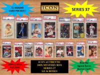 ICON AUTHENTIC  100X MYSTERY BOX SERIES 37 100+ Cards per Box at PristineAuction.com
