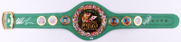 Mike Tyson & Evander Holyfield Signed WBC High Quality Replica Full-Size Belt (JSA COA)