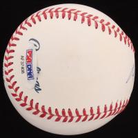 Mitt Romney Signed OML Baseball (PSA COA) at PristineAuction.com