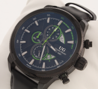 Ulysse Girard Masson Men's Swiss Chronograph Watch at PristineAuction.com