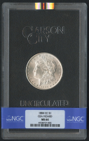 1884-CC $1 Morgan Silver Dollar (NGC MS 64) at PristineAuction.com