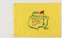 Arnold Palmer Signed 2004 Masters Pin Flag (JSA ALOA) at PristineAuction.com