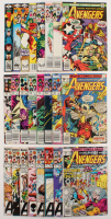 "Lot of (24) 1976-1985 ""The Avengers"" 1st Series Marvel Comic Books with #153-254 at PristineAuction.com"