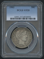 1903 50¢ Barber Half Dollar (PCGS VF 35) at PristineAuction.com