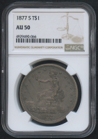 1877-S $1 Trade Silver Dollar (NGC AU 50)