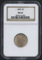 "1899 5¢ Liberty Head ""V"" Nickel (NGC MS 63)"