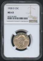 1928-D 25¢ Standing Liberty Quarter (NGC MS 63) at PristineAuction.com