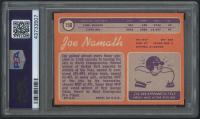 1970 Topps #150 Joe Namath (PSA 8) at PristineAuction.com