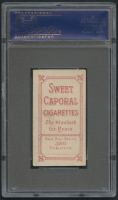 1909-11 T206 #270 Nap Lajoie / Throwing - Sweet Caporal (PSA 4) at PristineAuction.com