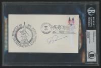 "Ferdinand Porsche Signed ""1974 Indianapolis 500 Festival"" 3.75x6.5 FDC Envelope (BAS Encapsulated) at PristineAuction.com"