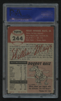 1953 Topps #244 Willie Mays (PSA 5) (MC) at PristineAuction.com