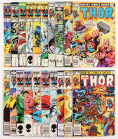 """Lot of (20) 1983-96 """"The Mighty Thor"""" #286-#358 Marvel Comic Books at PristineAuction.com"""