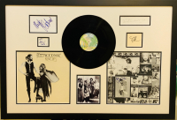 "Fleetwood Mac ""Rumors"" 26.5x38 Custom Framed Cut Display Signed by (5) with Stevie Nicks, Lindsey Buckingham, John McVie, Christine McVie & Mick Fleetwood (JSA COA) at PristineAuction.com"